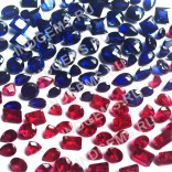 Корунд сапфировый и рубиновый